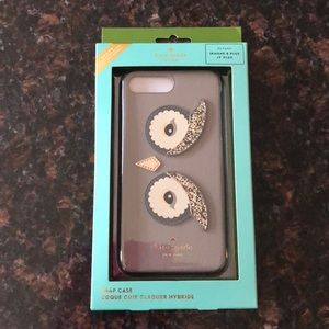 Kate Spade IPhone 7/8 Plus phone Owl case